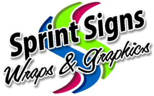 Sprint Signs wraps and graphics